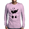 BANKSY PANDA pop Mens Long Sleeve T-Shirt