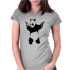 BANKSY PANDA pop Womens Fitted T-Shirt