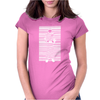 Banksy Prisoner Barcode Womens Fitted T-Shirt