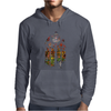 Banksy Stained Glass Window Mens Hoodie