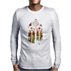 Banksy Stained Glass Window Mens Long Sleeve T-Shirt