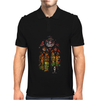 Banksy Stained Glass Window Mens Polo