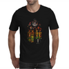 Banksy Stained Glass Window Mens T-Shirt