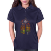 Banksy Stained Glass Window Womens Polo
