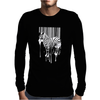Banksy Street Art Zebra Bar Code Mens Long Sleeve T-Shirt
