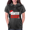 Banter Claus Funny Womens Polo