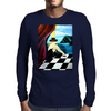 BAR SCENES  ONE Mens Long Sleeve T-Shirt