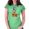 Barbecue party Womens Fitted T-Shirt