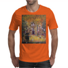 Barcelona on a rainy night Mens T-Shirt