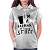 Barmen know stuff - blk Womens Polo