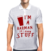 Barmen know stuff - red Mens Polo