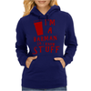 Barmen know stuff - red Womens Hoodie