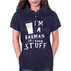 Barmen know stuff - wht Womens Polo