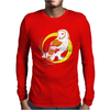 Barn Owl Mens Long Sleeve T-Shirt