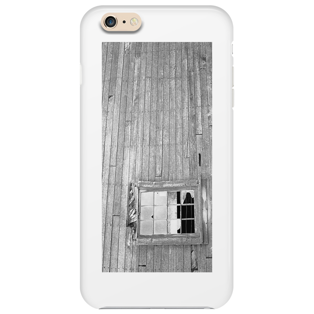 Barn Wall Broken Window Phone Case