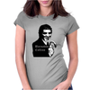 Barnabas Collins Dark Shadows vintage soap Womens Fitted T-Shirt