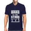 Bars To The Stars Mens Polo