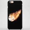 Baseball Flames Phone Case