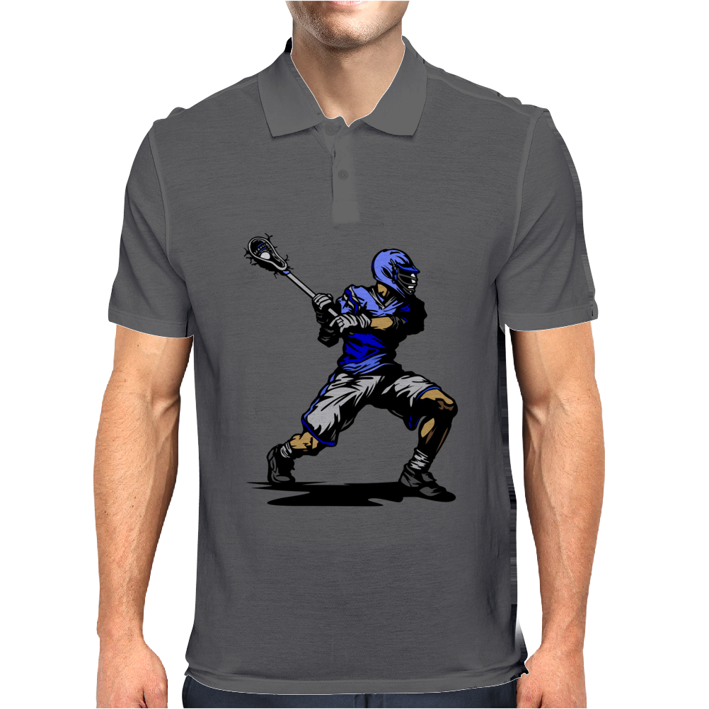 baseball player Mens Polo
