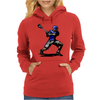 baseball player Womens Hoodie