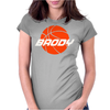 basketball Brody Womens Fitted T-Shirt