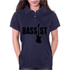 BASS GUITAR Womens Polo