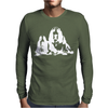 Basset Hound Pillow Mens Long Sleeve T-Shirt