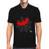 Bat vs Spider Mens Polo