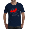 Bat vs Spider Mens T-Shirt