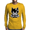 Batgirl Superhero Mens Long Sleeve T-Shirt