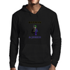 Batman and Joker Lego Figures Mens Hoodie