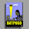 Batman City Pogo Poster Print (Portrait)