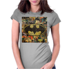 batman comic cover Womens Fitted T-Shirt