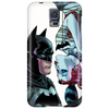 batman meet Harley Quinn kiss Phone Case