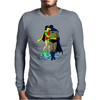 Batman & Robin Kissing Mens Long Sleeve T-Shirt