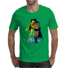 Batman & Robin Kissing Mens T-Shirt