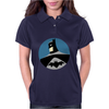 Batman Round Womens Polo