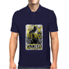 Batman Vs Superman Movie Wanted Poster Dc Comics Mens Polo