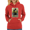 Batman Vs Superman Movie Wanted Poster Dc Comics Womens Hoodie