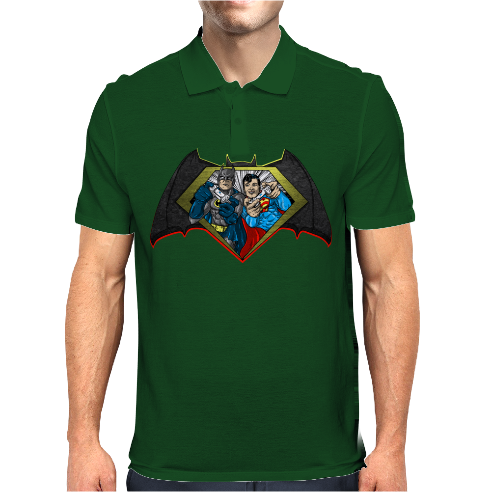 Batman vs Superman PWNED Mens Polo