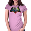 Batman vs Superman PWNED Womens Fitted T-Shirt