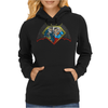 Batman vs Superman PWNED Womens Hoodie