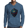 Battle Tested Shield Mens Hoodie