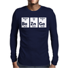 Bazinga BaZnGa Periodic Table Mens Long Sleeve T-Shirt
