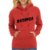 Bazinga Logo Inspired By The Big Bang Theory Ideal Birthday Gift Womens Hoodie