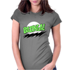 Bazinga - The Big Bang Theory Womens Fitted T-Shirt
