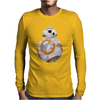 BB-8 Geometric Droid Mens Long Sleeve T-Shirt
