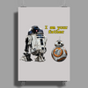 BB-8, I am your father. Poster Print (Portrait)