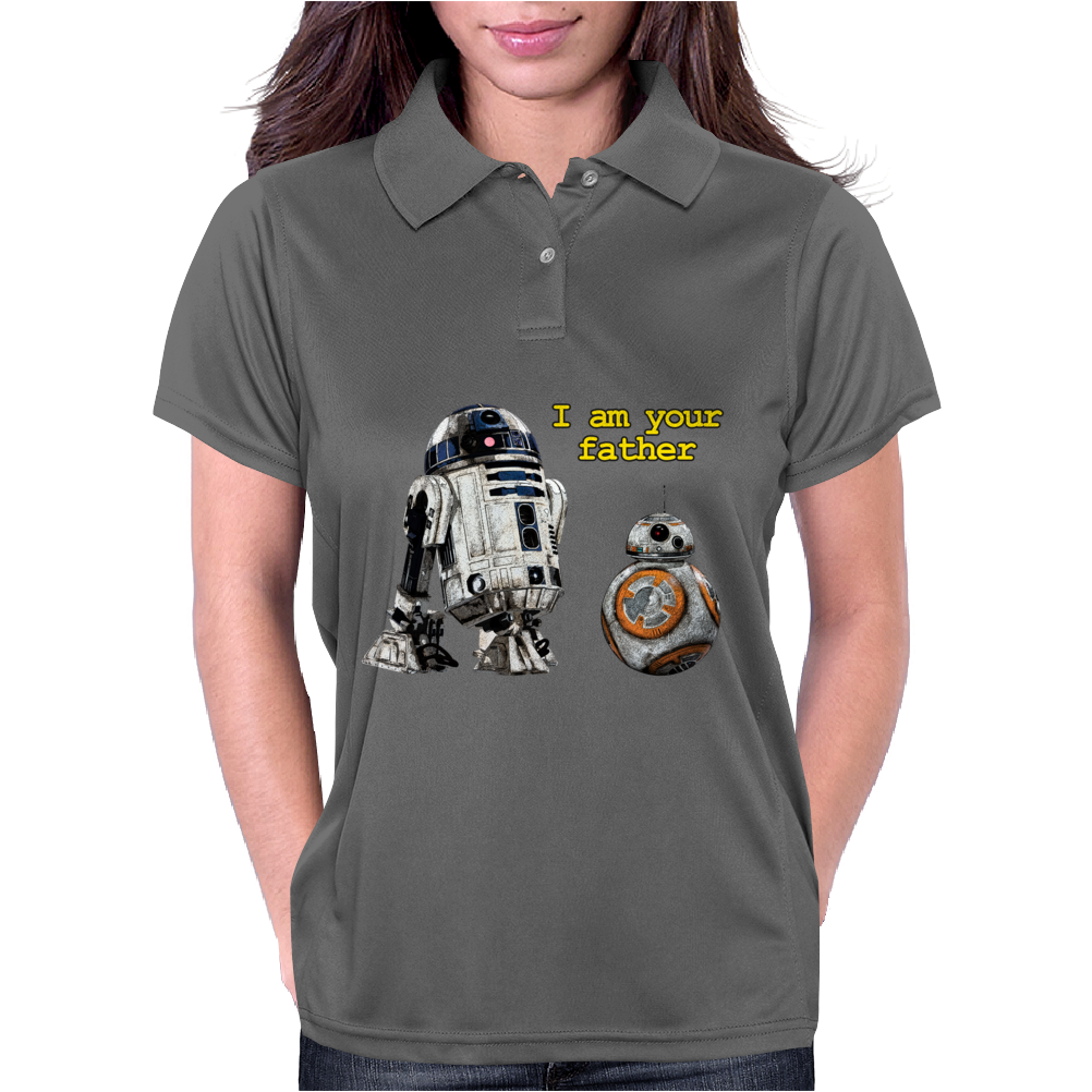 BB-8, I am your father. Womens Polo