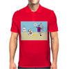 BB8 and Bobby deBot Mens Polo